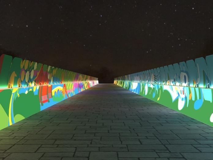 台灣燈會「綻放光廊」模擬圖曝 限量3千份卡片燈免費送