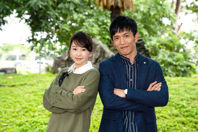 ▲六月客串《天堂的微笑》。(圖/TVBS提供)