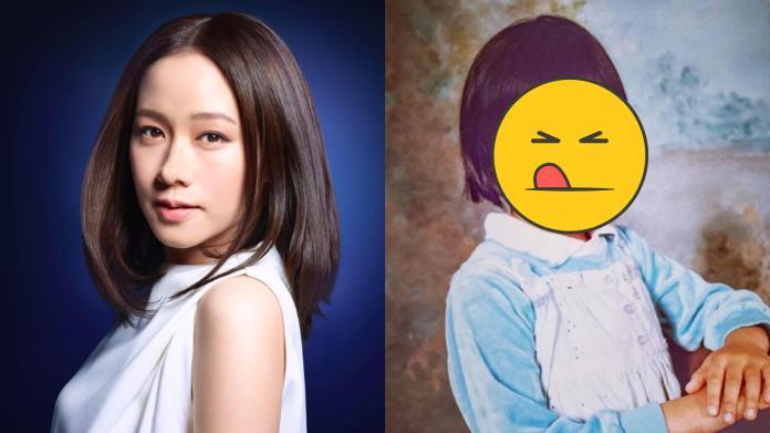 女神林嘉欣曝嫩照 「招牌下巴肉」Q翻粉絲:從小美到大