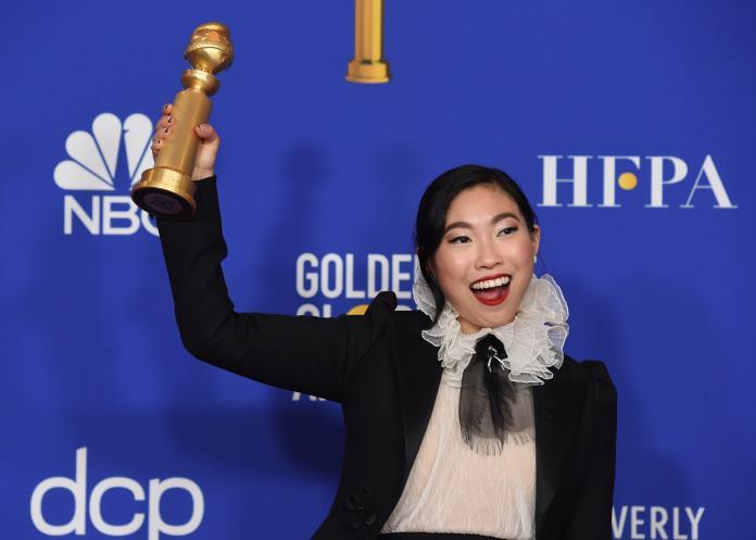 金球獎/史上首位「亞裔影后」 林家珍上台「發抖哽咽」