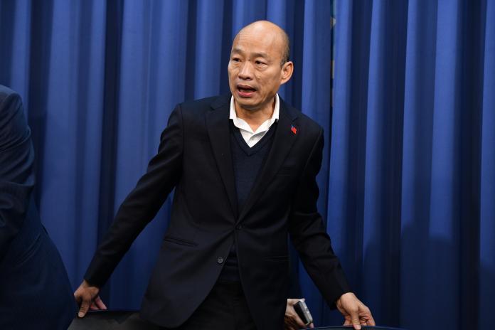 國民黨總統候選人韓國瑜。(圖 / 記者林柏年攝)