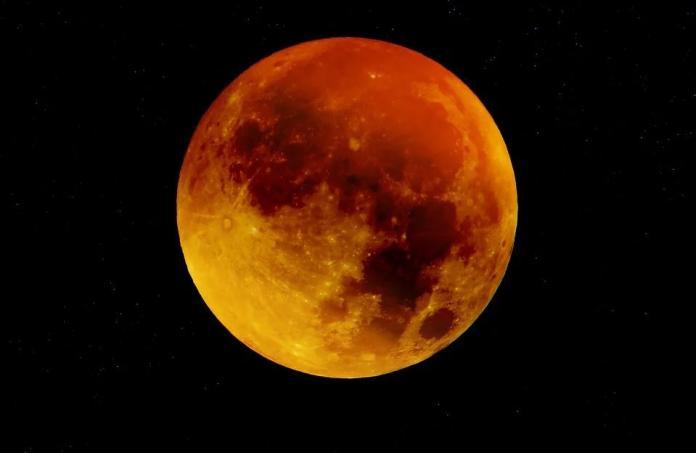 ▲天文奇景超級血月26日登場,環太平洋地區可見。(示意圖/Pixabay)