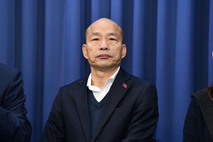 國民黨總統候選人韓國瑜。( 圖 / 記者林柏年攝 )