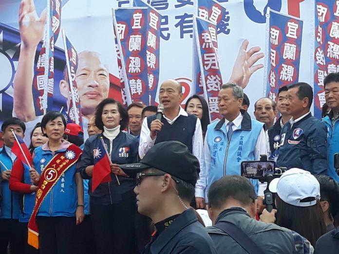 韓國瑜:有信心讓台灣重新再起讓全世界尊敬