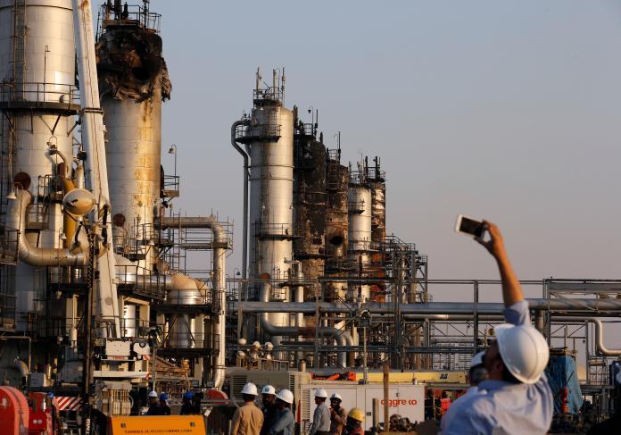▲美伊緊張局勢升溫,影響國際油價上漲。資料照。(圖/美聯社/達志影像)