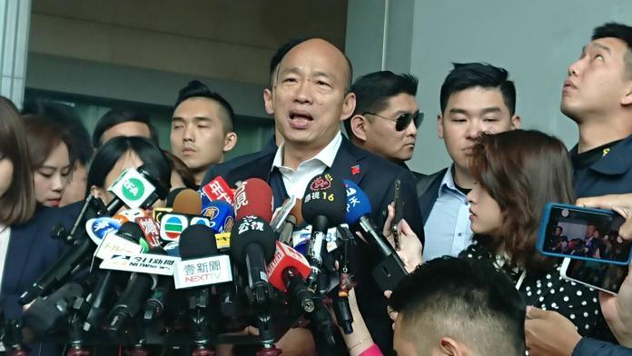 選前2天重砲轟網軍!韓國瑜:一堆人被假粉專騙還叫乾爹
