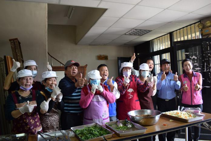 北港水埔社區長青食堂揭牌正式啟用