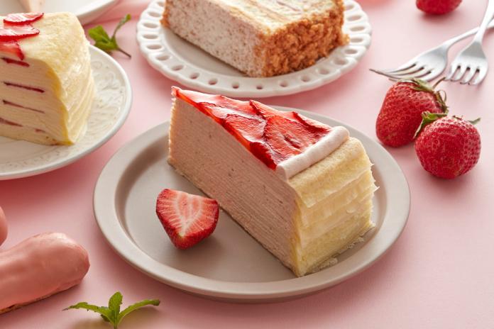 草莓控注意!貴婦級5款草莓甜點10日開賣