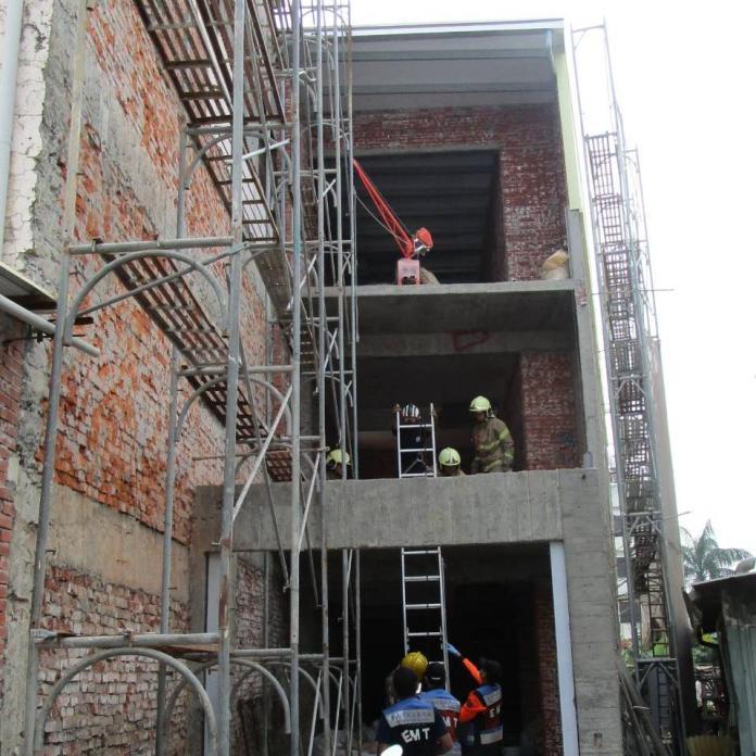 台南市大同路二段一處整修中的民宅,9日被附近居民發現工人陳屍工地