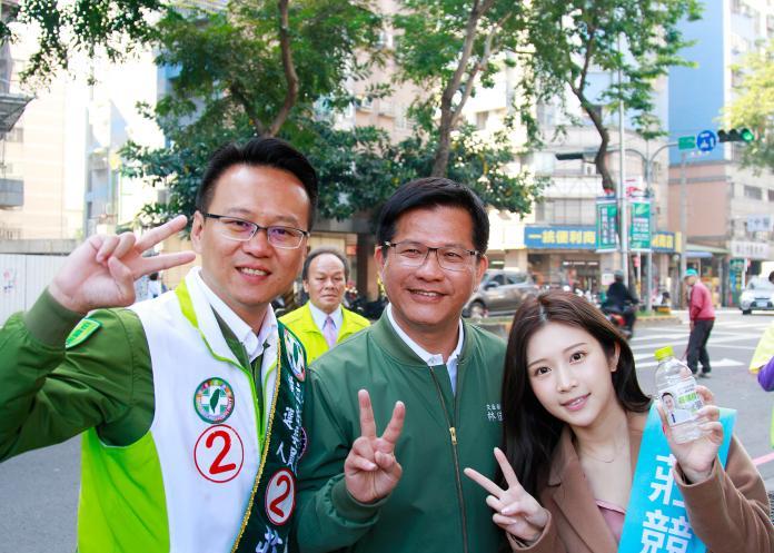 韓國瑜選前造勢 林佳龍:有危機意識