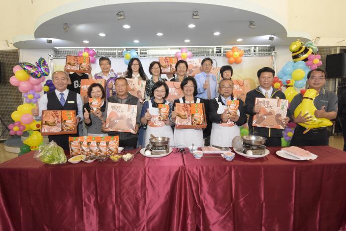 影/「鴨禮山大」 芳苑、線西鄉農會發表創意料理產品