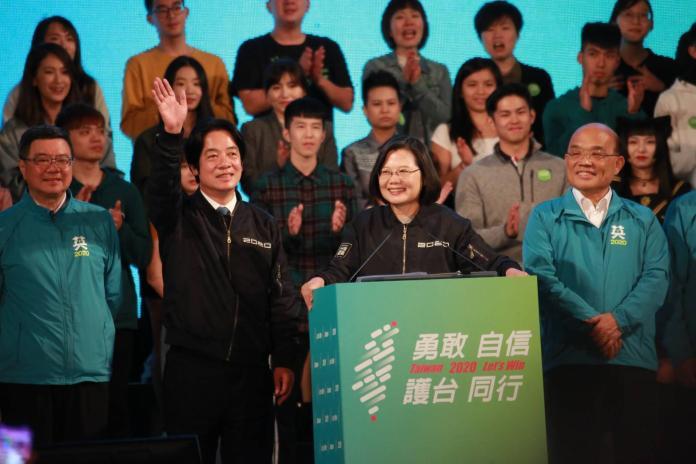▲民進黨英德配獲得此次總統大選勝利。(圖/NOWnews資料照片)