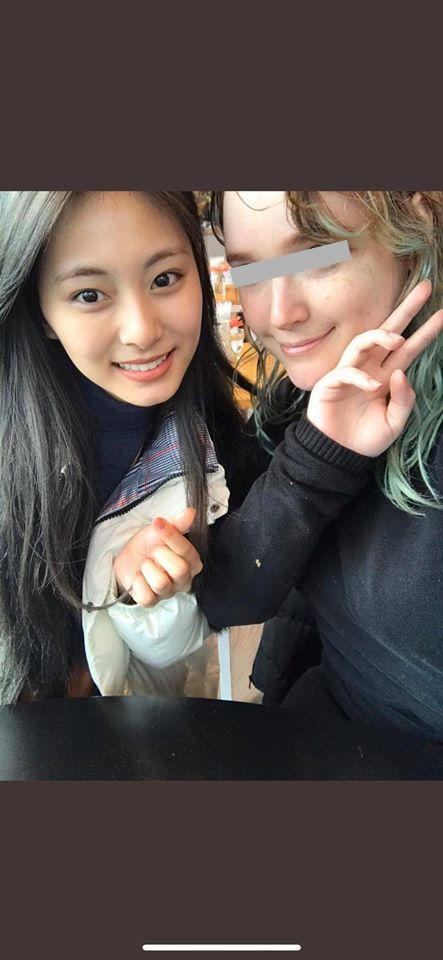 <br> ▲外國女粉絲分享在荷蘭巧遇子瑜的過程。(圖/TWICE :: 無限站臉書)