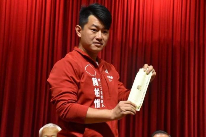 ▲台灣基進黨提名的台中市第二選區立委候選人陳柏惟成功當選。(圖/NOWnews資料畫面)