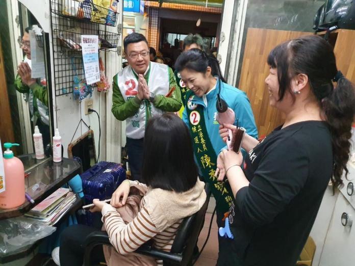 快訊/陳秀寶自行宣布當選雲林縣第1選區立委