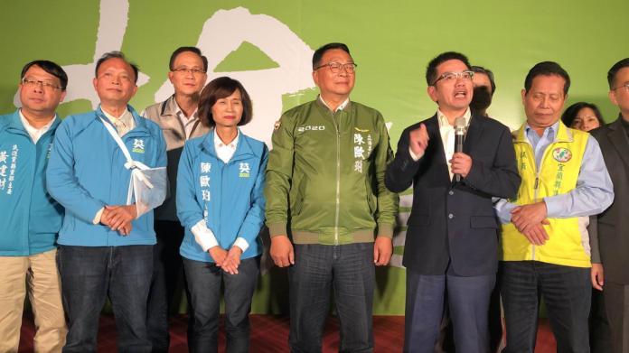 快訊/陳歐珀自行宣布連任當選宜蘭縣區域立委