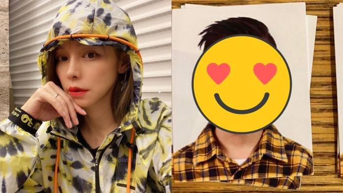▲徐若瑄分享4歲兒子V寶的證件照,網友直呼太可愛。(圖/臉書)