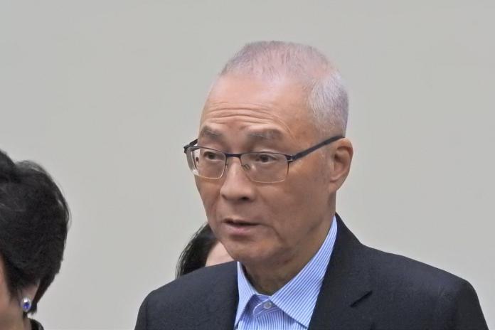 <br> 面臨2020敗選的國民黨主席吳敦義。( 圖 / 記者陳弘志攝 )