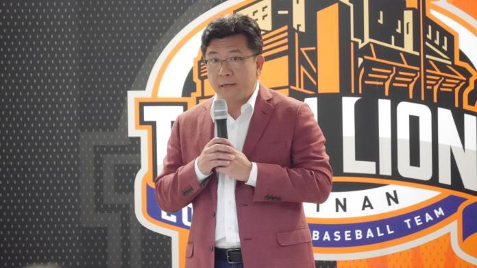 中華職棒/猛獅<b>開訓</b>第一天 董事長涂忠正強調紀律