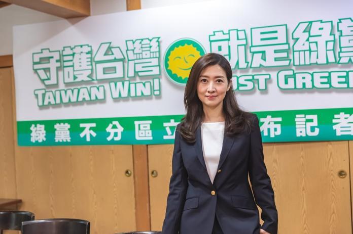 ▲鄧惠文是綠黨不分區立委。(圖/取自鄧惠文臉書)