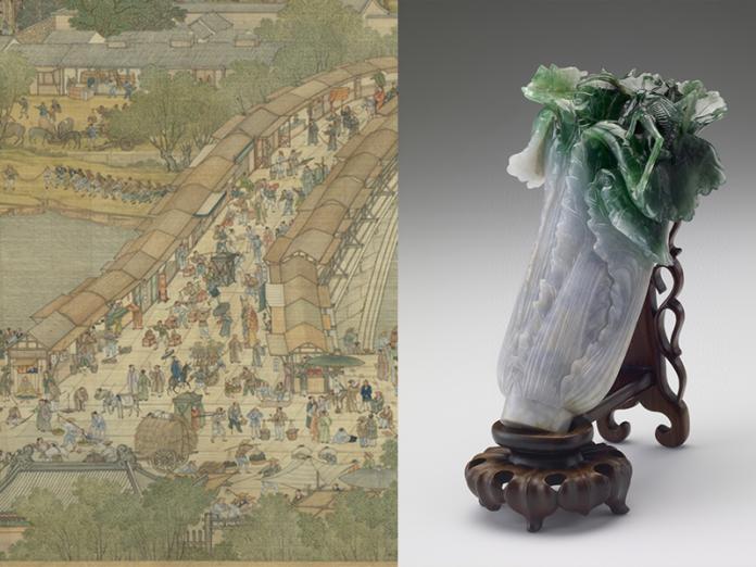 故宮年度5大展 清明上河圖、翠玉白菜年節起赴南院展出