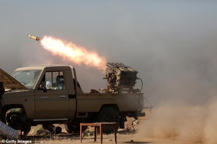 ▲安全當局消息人士指出,18日有5枚火箭襲擊伊拉克首都巴格達(Baghdad)北方駐有美國官兵的巴拉德空軍基地(BaladAirBase),造成2名外國人士及3名伊拉克軍人受傷。資料照。(圖/翻攝自每日郵報)