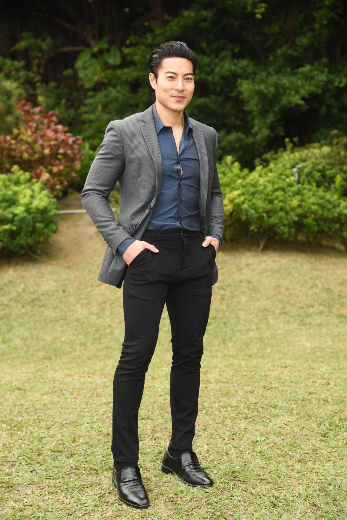 好萊塢一線華裔演員唐嘉壕 Chase Tang 首次媒體見面。(圖/記者陳明安攝,2020.01.15)