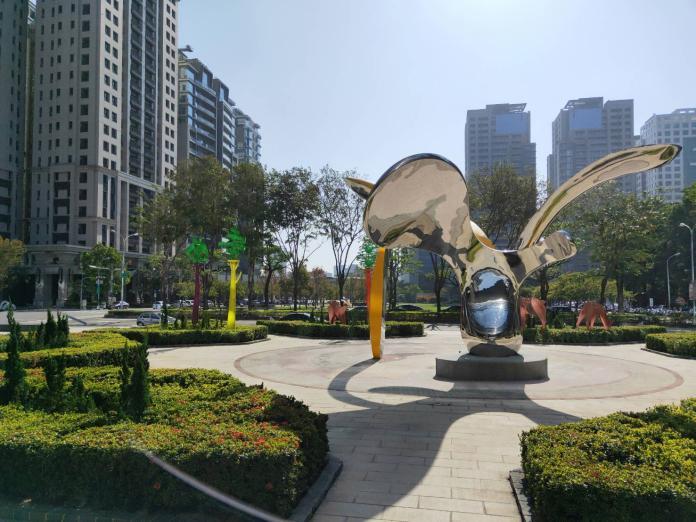 中市議會全台公共藝術之最殿堂