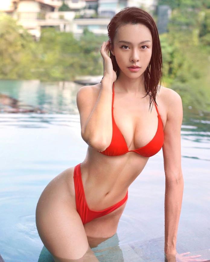▲李元玲泳裝新照。(圖/IG)