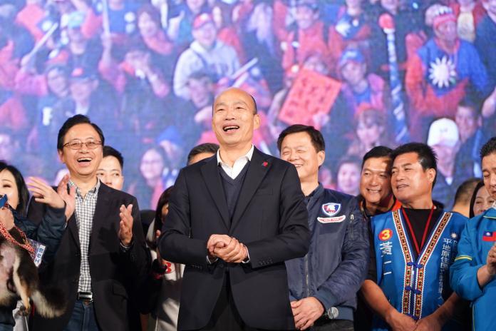 ▲高雄市長韓國瑜深陷被罷免危機。(圖/臉書)