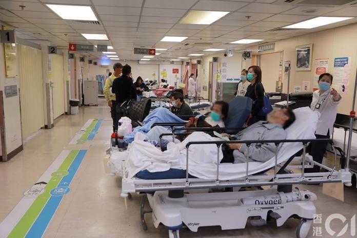香港醫院病床:香港01