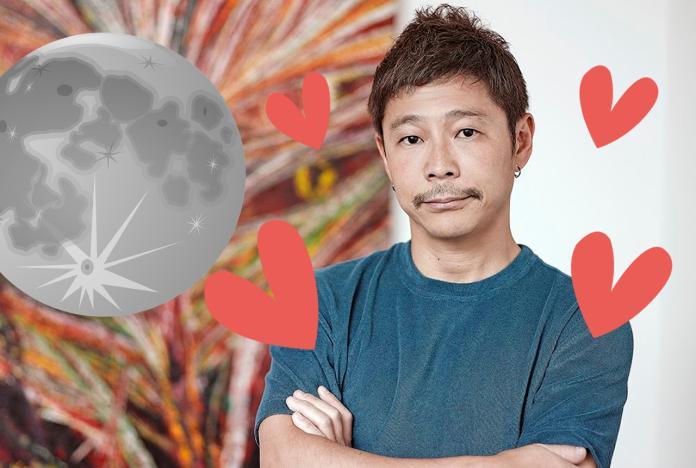 日本百億富豪超狂「徵女友上月球」!2萬櫻花妹搶當正宮