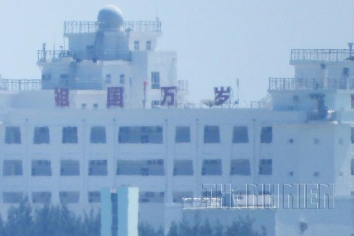 祖國萬歲!越媒直擊解放軍於爭議赤瓜礁擴建 越南恐氣炸