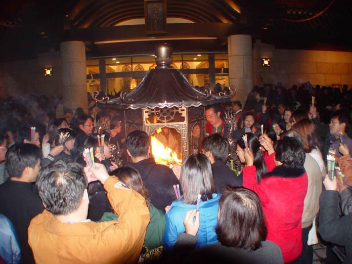 迎金鼠年 <b>民政局長柯慶忠</b>歡迎大家到新北宮廟走春迎新年
