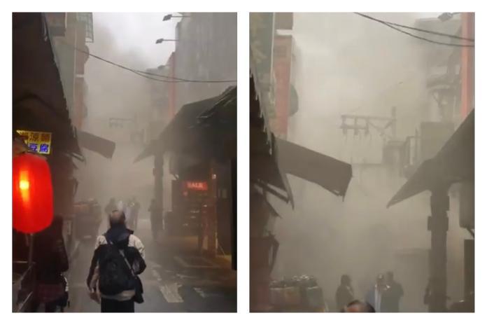 快訊/士林夜市遭<b>祝融</b>!濃煙密佈超駭人 街邊商家全停電