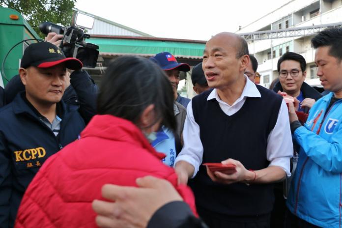 回歸市政被嗆睡太晚 韓國瑜5點巡查魚市場