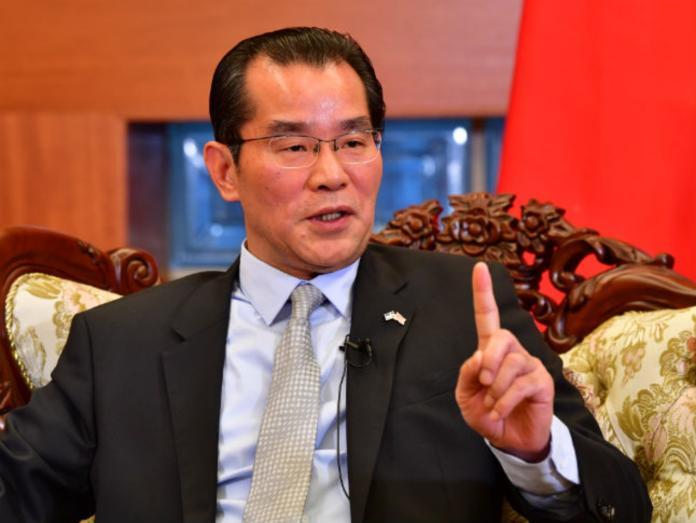 ▲中國駐瑞典大使桂從友。資料照。(圖/翻攝自瑞典 The local )