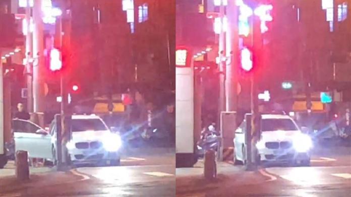 ▲近期臉書瘋傳一段台中街頭上演活春宮的影片。(圖/翻攝爆料公社)