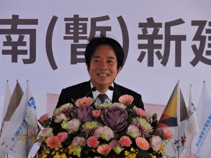 <br> ▲賴清德對於台南高鐵特定區的開發與建設相當有信心,他指出,「該區將會是台南的城中城」。(圖/記者陳聖璋攝,2020.01.20)