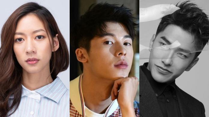 ▲陳妤(左圖起)、許光漢、曾敬驊為近期表現亮眼的新演員。(圖/臉書、資料照、IG)