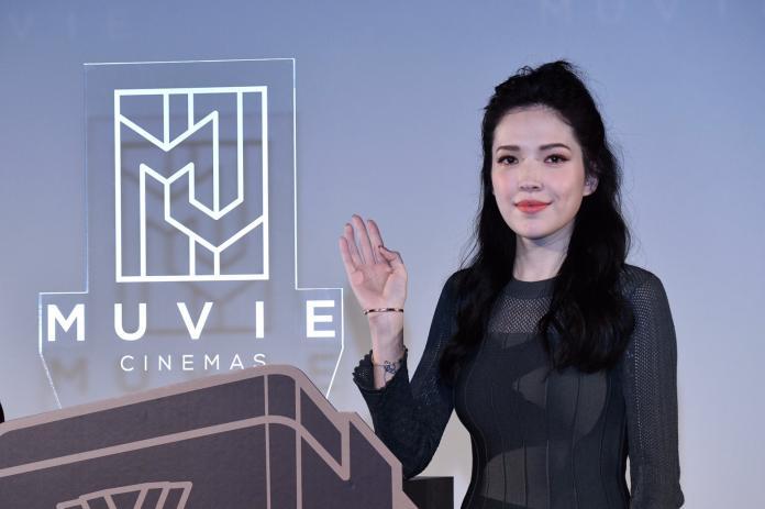 許瑋甯上電影院「防狗仔」 預約新年跟未婚夫「變裝」