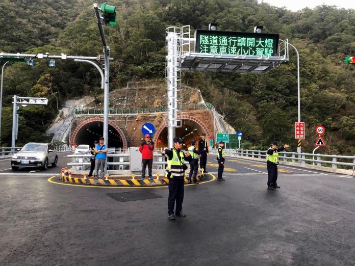 春節期間<b>南迴</b>草埔隧道 屏東縣警加強疏導管制