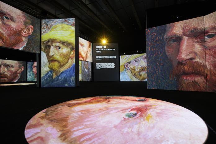 走入梵谷名畫《星夜》 高科技光影體驗展藝術「聞」得到