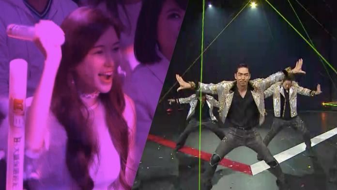 林志玲低調躲台下 「眼神充滿愛」看老公跳舞