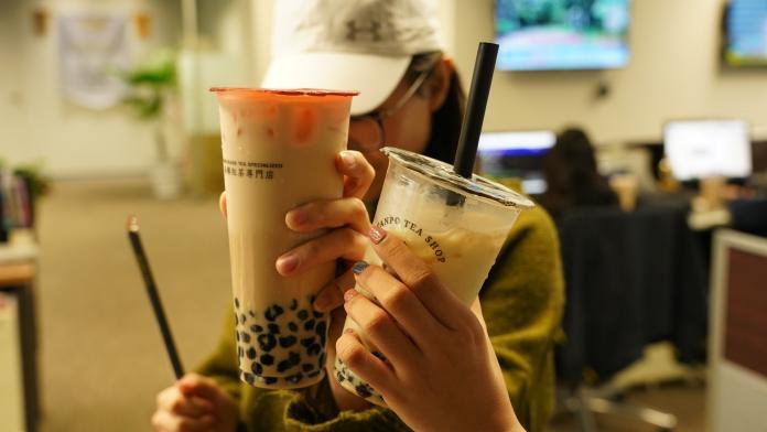 珍珠奶茶配圖。(圖/記者陳人豪攝,2020.01.22)