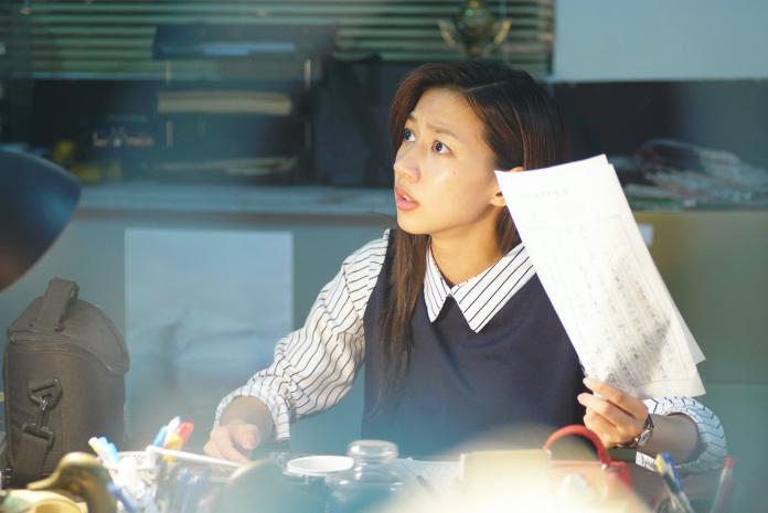 ▲陳妤飾演報社政治線記者。(圖/friDay影音提供)