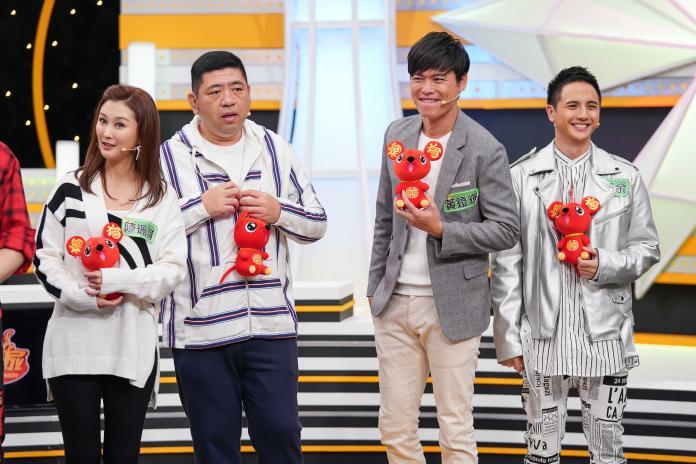 <br> ▲陳珮騏(左起)、NONO、黃鐙輝、曾子余透露過年計畫。(圖/TVBS)