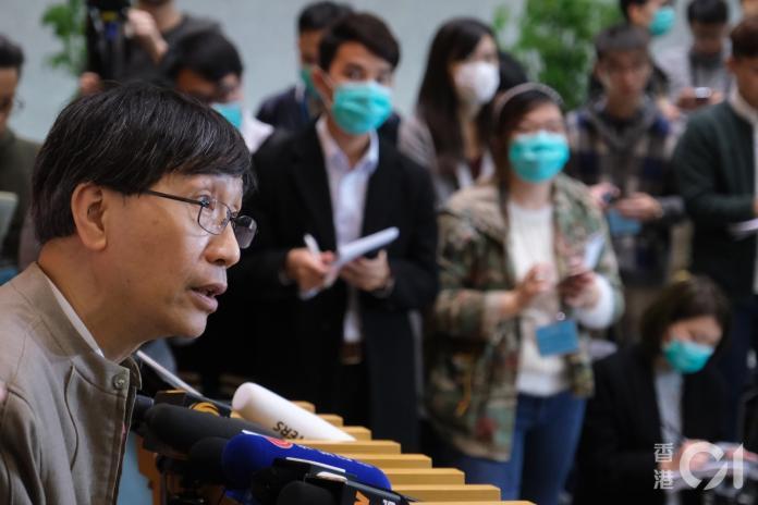 ▲香港大學微生物學系講座教授袁國勇。(圖/翻攝香港01)
