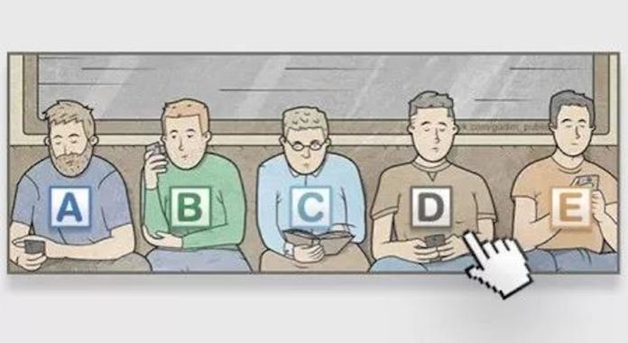 ▲你認為一圖中乘客「誰會先下車」的測驗,迅速可以得知你的內心人格。(圖/翻攝自搜狐)
