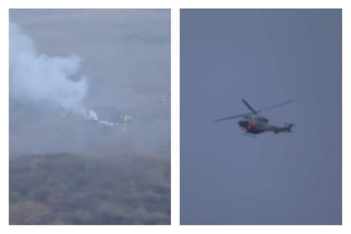 影/畫面曝光!Kobe直升機墜地「火光四射」 震驚目擊者